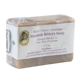 Maria Treben's Authentic Handcrafted Swedish Bitters Soap