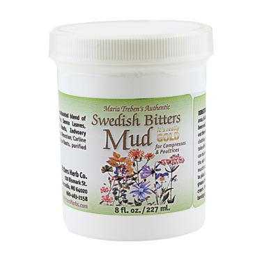 Maria Treben's Authentic Swedish Bitters Mud (8oz/227ml) jar
